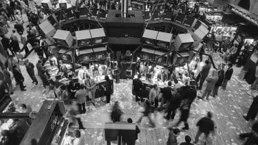 New York Stock Exchange, 1982.