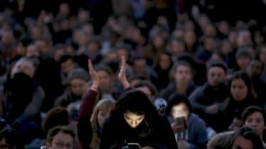 A social media event in Paris