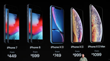 Apple Announcement Event with iPhone models