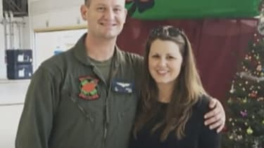 Michelle Penczak and her husband.
