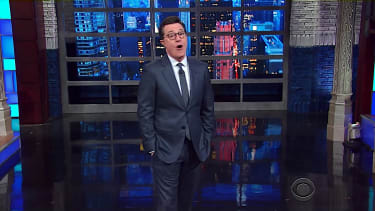 Stephen Colbert talks Trump and TrumpCare