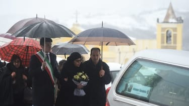 Mourners bury victims of Italy hotel avalanche
