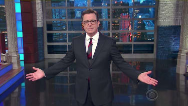 Stephen Colbert takes aim at Jeff Sessions