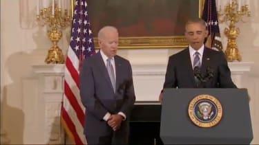President Obama and Vice President Biden.