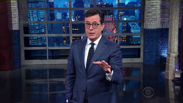 Stephen Colbert pleads for Trump fan to keep politics out of Rogue One