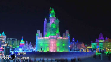 China's amazing Harbin International Ice Festival makes Frozen seem almost plausible