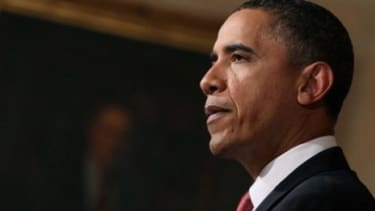 """Change in Egypt has to begin """"now,"""" Obama said Tuesday, the ninth day of the anti-Mubarak protests."""