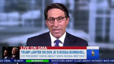 President Trump's lawyer, Jay Sekulow, defends his client.