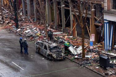 Nashville bombing aftermath