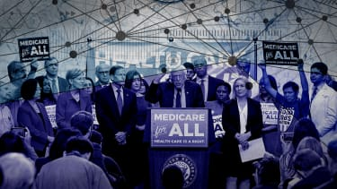 Medicare for all supporters.