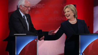 Sanders and Clinton actually liked each other last year.