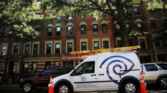 A Time Warner Cable vehicle
