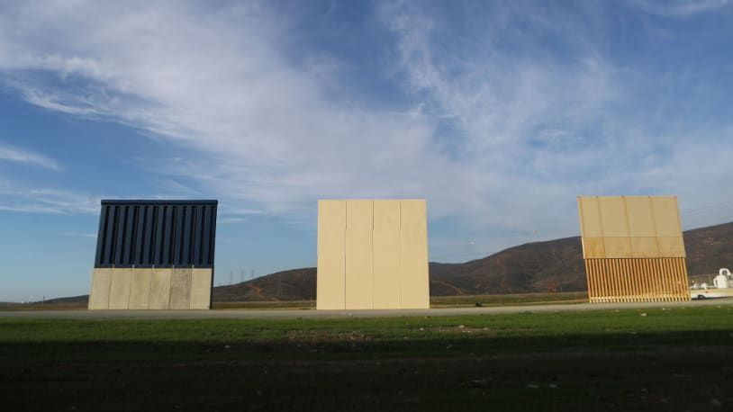 Trump's 8 border wall prototypes cost about $400,000 each. Now they're being torn down.
