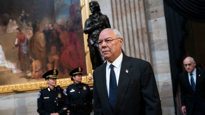 In one of his last interviews, Colin Powell spoke frankly about U.S. foreign policy
