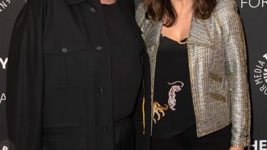 Dick Wolf and Mariska Hargitay.