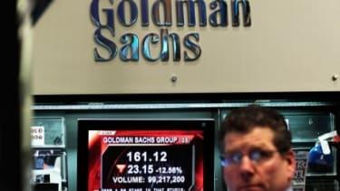 Godman Sachs stock plummeted after Friday's SEC announcement.