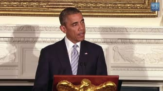 Obama calls for ceasefire in Gaza: Death of Palestinian civilians 'a tragedy'