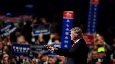 Donald Trump at the 2016 Republican National Convention.