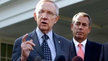 House Speaker John Boehner and Senate Majority Leader Harry Reid: Not exactly BFF.