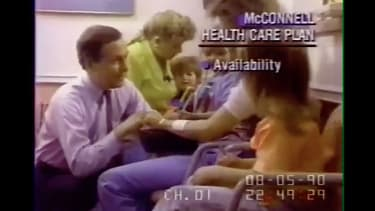 Mitch McConnell in a 1990 ad.
