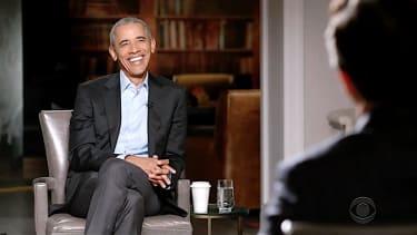 Stephen Colbert interviews Barack Obama