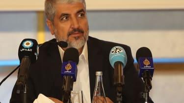 Hamas leader Khaled Mashaal unveils new charter