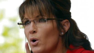Sarah Palin says goodbye to the White House.
