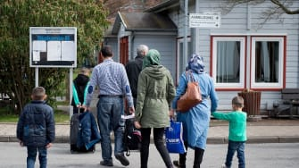 Syrian refugees arrive in Germany