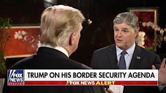 Sean Hannity interviews Trump