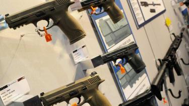 Woman shot in the leg at Pennsylvania gun show