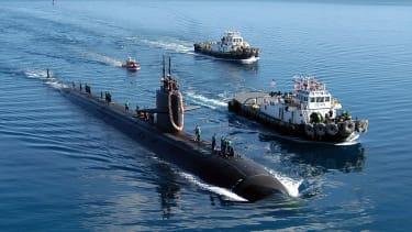 Nuclear submarine.