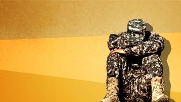 A soldier.