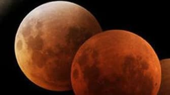 Wednesday morning's lunar eclipse is a 'phenomenon that's barely possible'