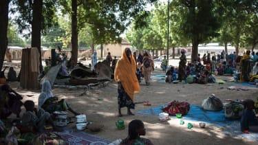 Nigerian refugees in 2016.