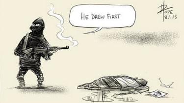 Cartoonists take on Charlie Hebdo attacks