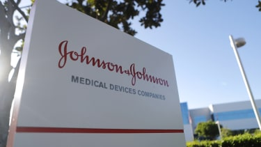 The Johnson & Johnson sign