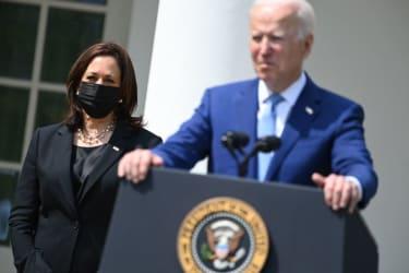 Joe Biden, Kamala Harris.