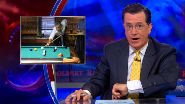 Stephen Colbert diagnoses Obama with a bad case of 'senioritis'