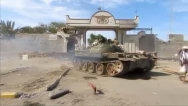 Fighting in Aden.