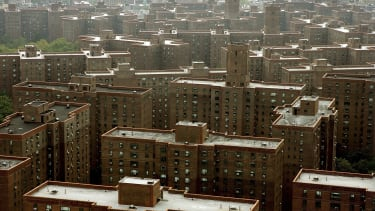The Peter Cooper Village and Stuyvesant Town apartment complex in New York in 2006.