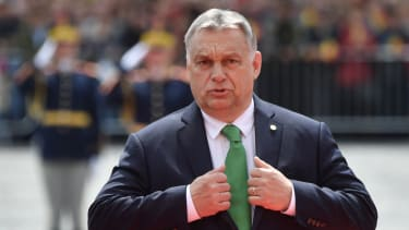 Hungary's Prime Minister Orban in Romania