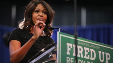 Michelle Obama: Vote Democratic no matter the candidate's record or qualifications