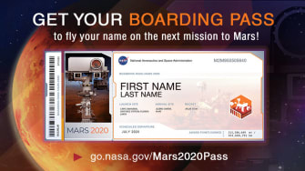 NASA Rover.