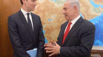 Jared Kushner and Benjamin Netanyahu