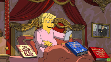 The Simpsons on Trump's first 100 days