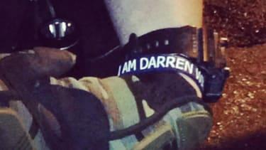 Ferguson police department bans officers from wearing 'I am Darren Wilson' bracelets
