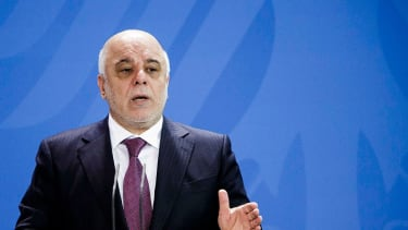 Iraq PM Haider Al-Abadi orders airstrike against Isis.