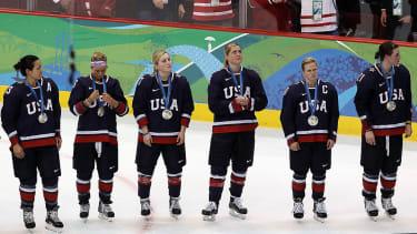 US Womens National Hockey Team.