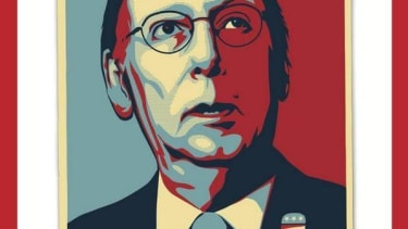 Time gives Mitch McConnell the Obama 'Hope' treatment on its forthcoming cover