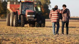 Farmers in Iowa